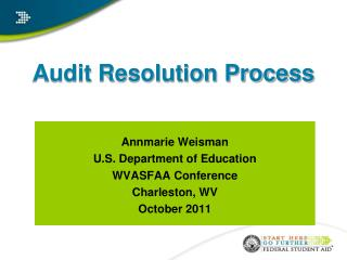 Audit Resolution Process