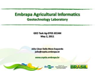 Brief Overview of Embrapa