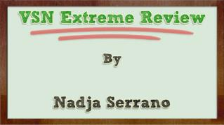 ppt-846-VSN-Extreme-Review