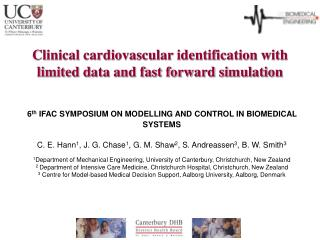 Clinical cardiovascular identification with limited data and fast forward simulation