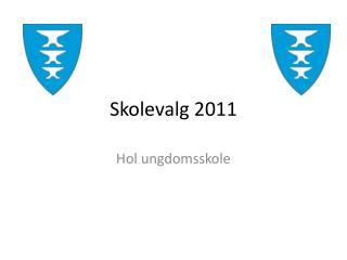 Skolevalg 2011