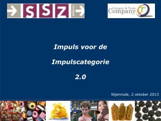 Impuls voor de Impulscategorie 2.0