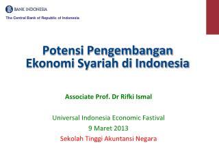 Potensi Pengembangan Ekonomi Syariah di Indonesia