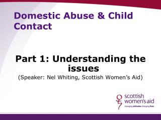 Domestic Abuse & Child Contact