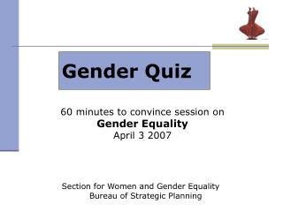 Gender Quiz