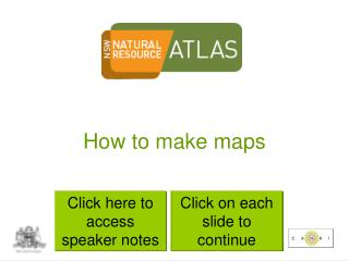 How to make maps
