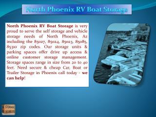 Phoenix RV storage