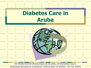 Diabetes Care in  Aruba