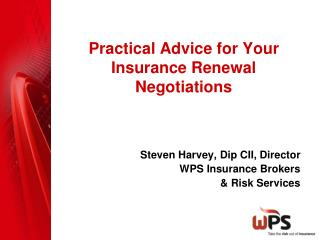 Practical Advice for Your Insurance Renewal Negotiations
