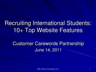 Recruiting International Students: 10+ Top Website Features