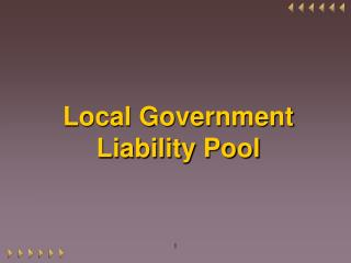 Local Government Liability Pool