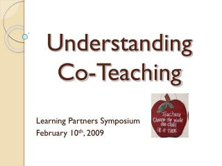 Understanding Co-Teaching