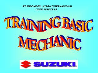 TRAINING BASIC  MECHANIC