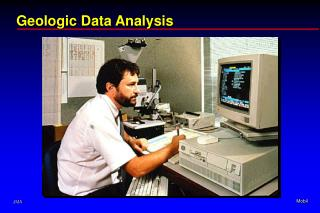 Geologic Data Analysis