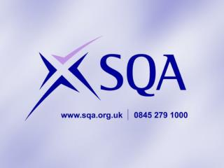 Curriculum for Excellence: National Qualifications in Scotland November 2012