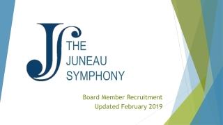 THE JUNEAU SYMPHONY