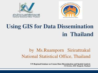 Using GIS for Data Dissemination in  Thailand