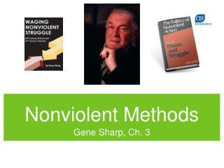 Nonviolent Methods