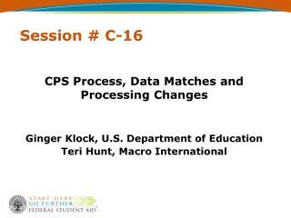 Session # C-16