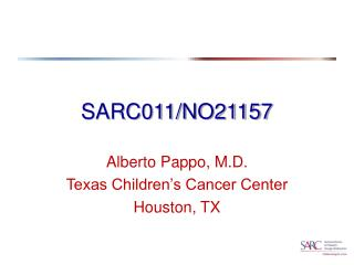 SARC011/NO21157