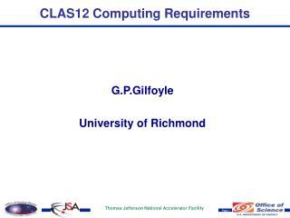 CLAS12 Computing Requirements