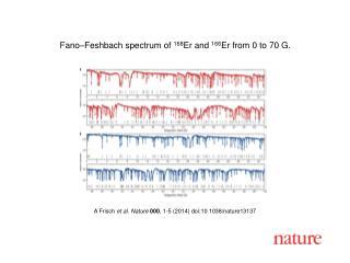A  Frisch et al. Nature  000 , 1-5 (2014)  doi:10.1038/nature13137