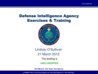 Defense Intelligence Agency Exercises & Training