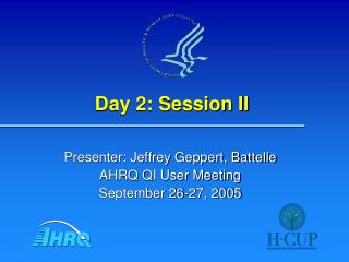 Day 2: Session II