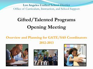 Los Angeles Unified School District Office of Curriculum, Instruction, and School Support