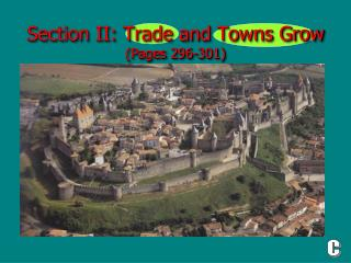 Section II: Trade and Towns Grow  (Pages 296-301)