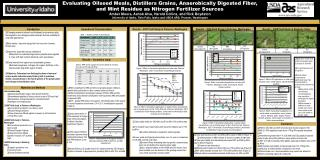 Evaluating Oilseed Meals, Distillers Grains, Anaerobically Digested Fiber,