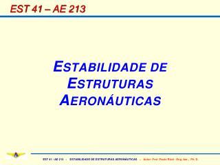 EST 41 – AE 213