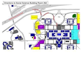 Directions to Social Science Building Room 262