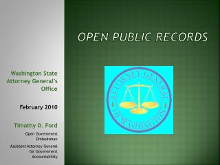 OPEN PUBLIC RECORDS