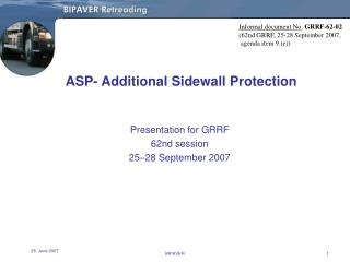 ASP- Additional Sidewall Protection