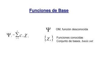 Funciones de Base