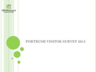 PORTRUSH VISITOR SURVEY 2013