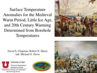 David S. Chapman, Robert N. Harris and Michael G. Davis
