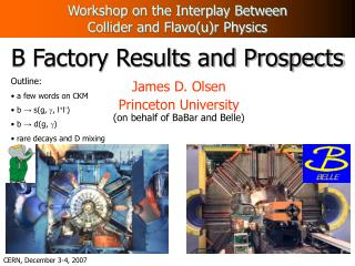 B Factory Results and Prospects
