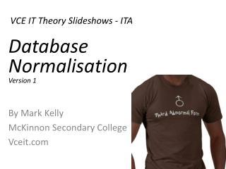 VCE IT Theory Slideshows - ITA