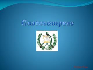 Guatecompras