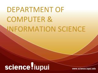 Department of Computer & Information Science