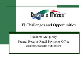 FI Challenges and Opportunities