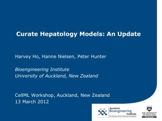 Curate Hepatology Models: An Update