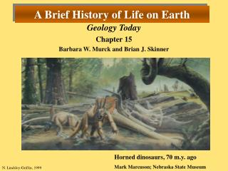 A Brief History of Life on Earth