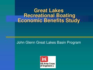Great Lakes  Recreational Boating Economic Benefits Study