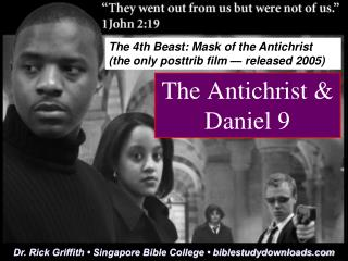 The Antichrist & Daniel 9