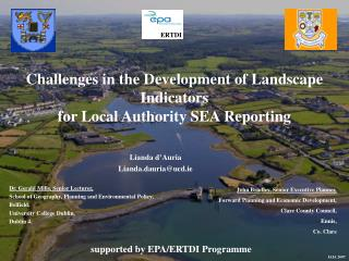 Challenges in the Development of Landscape Indicators for Local Authority SEA Reporting