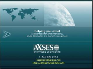 helping you excel supplier tools for direct marketing, global distribution and tourism management
