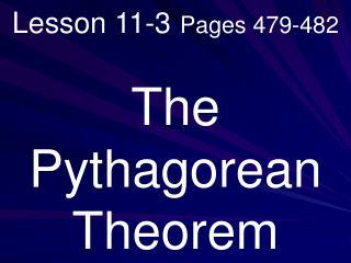Lesson 11-3 Pages 479-482